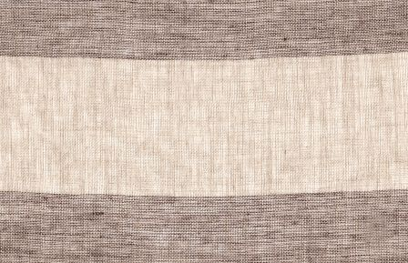 Sheer Linen Stripe - Plum